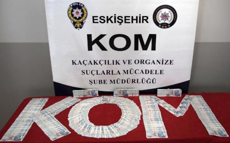 Eskişehir'de sahte para operasyonu: 5 gözaltı