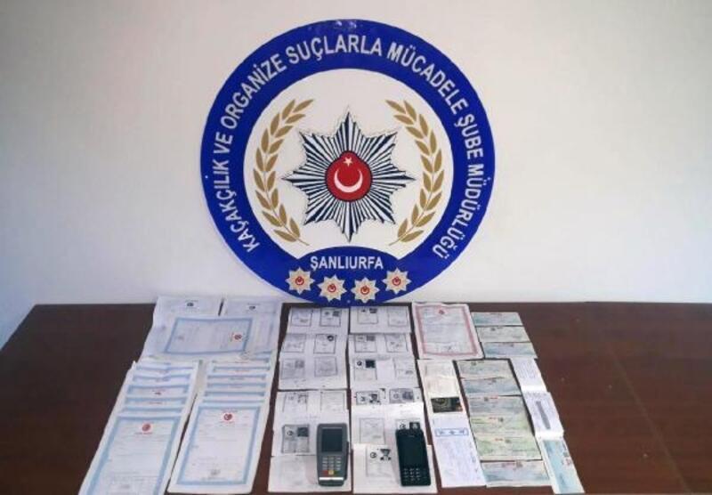 Hilvan'da tefeci operasyonunda 4 tutuklama