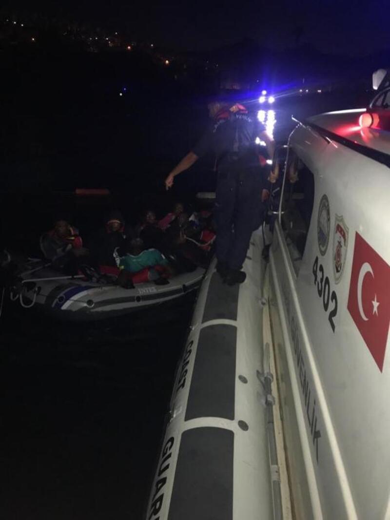 Muğla'da 40 kaçak göçmen yakalandı