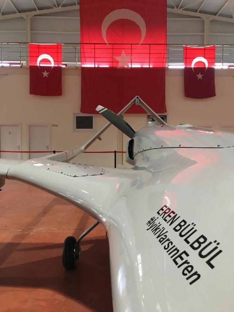 Eren Bülbül'ün adını taşıyan SİHA, ilk uçuşunu gerçekleştirdi