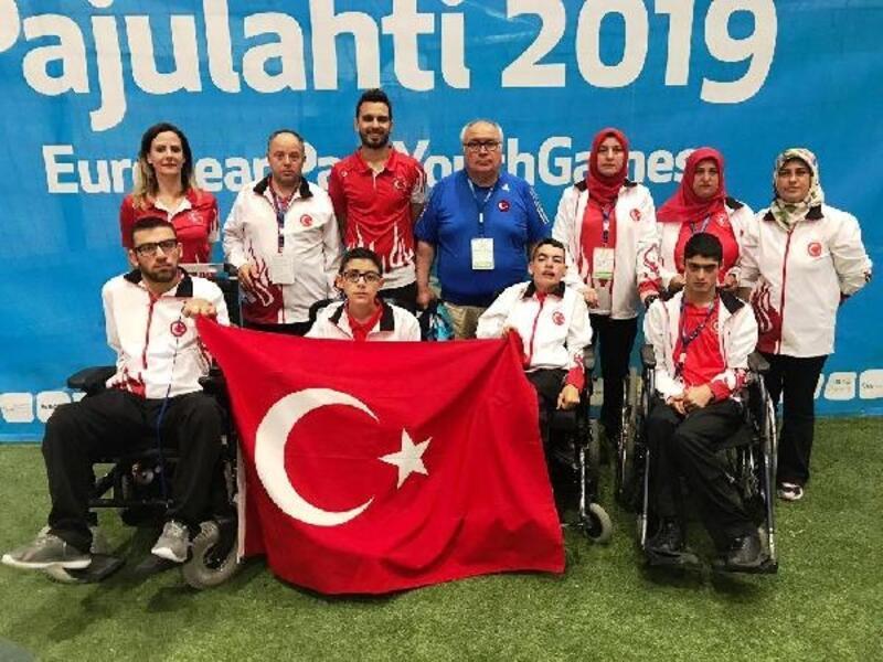 2019 Avrupa Gençlik Oyunları'nda 5 madalya