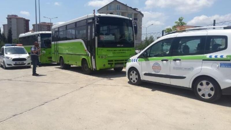 Vatandaşa kötü muamele yapan halk otobüs şöförlerine ceza