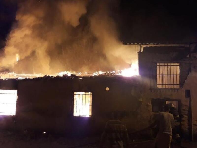 Aydın'da 2 ev yandı