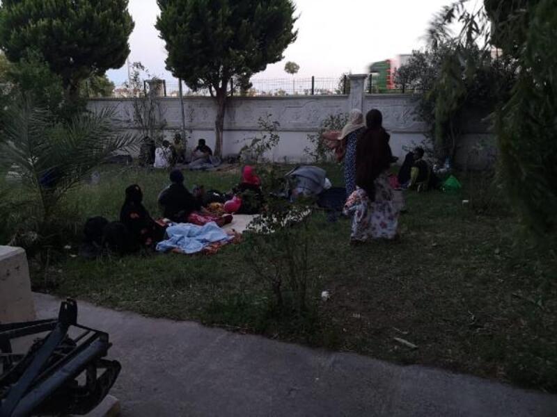 Ayvalık'ta 35kaçak göçmen yakalandı