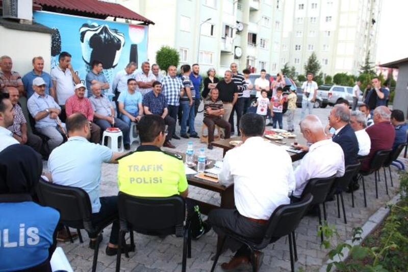 Tokat'ta huzur toplantısının 6'ncısı yapıldı