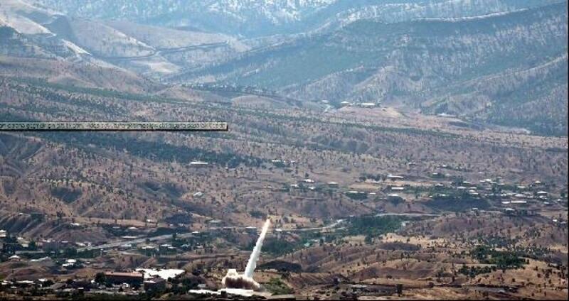 PKK'nın belirlenen hedefleri 'Bora' ile vuruluyor