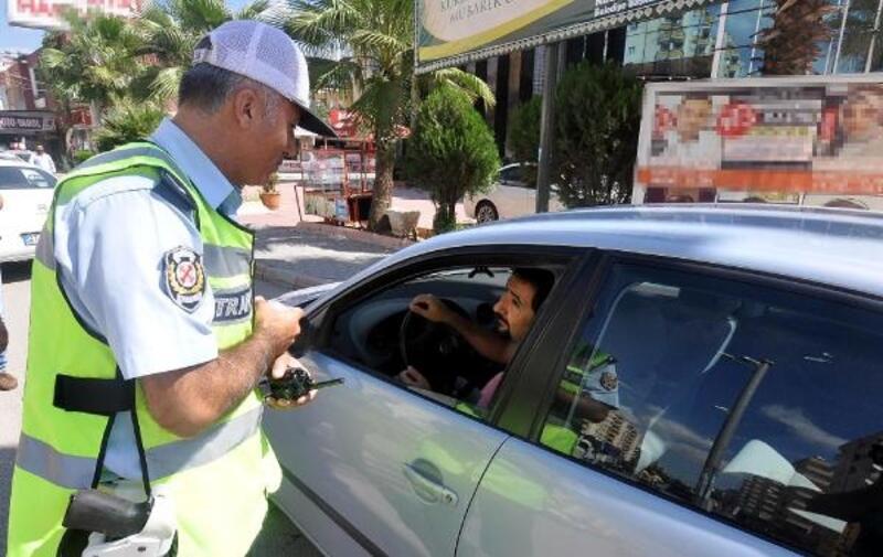 Haziran'da 248 sürücüye, 36 bin 515 lira ceza kesildi