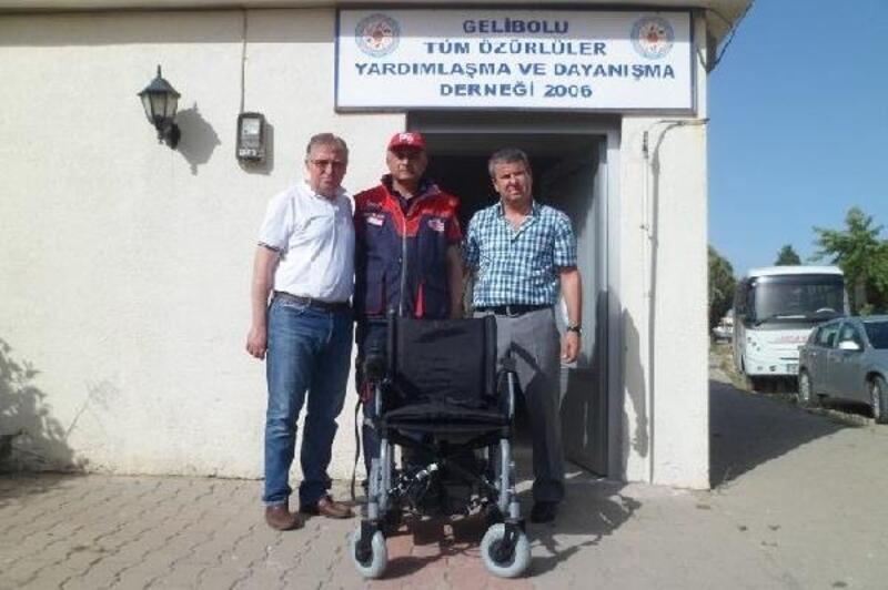 Gelibolu'da şehir içi minibüsler, engellilere de ücretsiz oldu