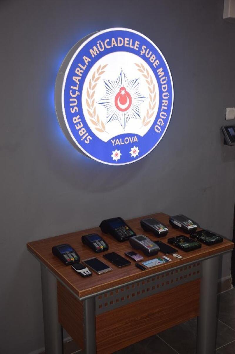 Müşterilerinin kartlarını kopyalayan lokantacı ve 3 çalışanı yakalandı