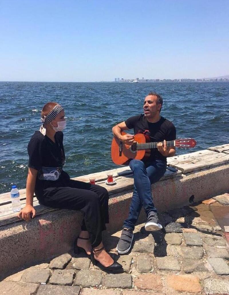 Haluk Levent, tedavi gören genç kız için şarkı söyledi