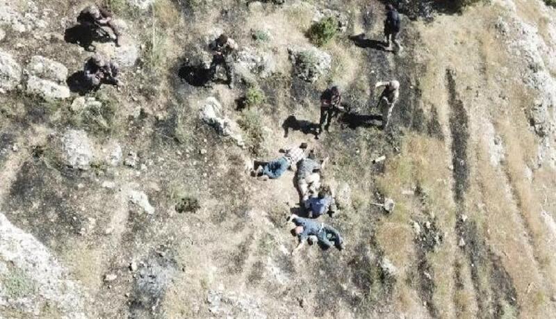 Hasankeyf'te yakalanan 2'si yabancı 4 terörist tutuklandı
