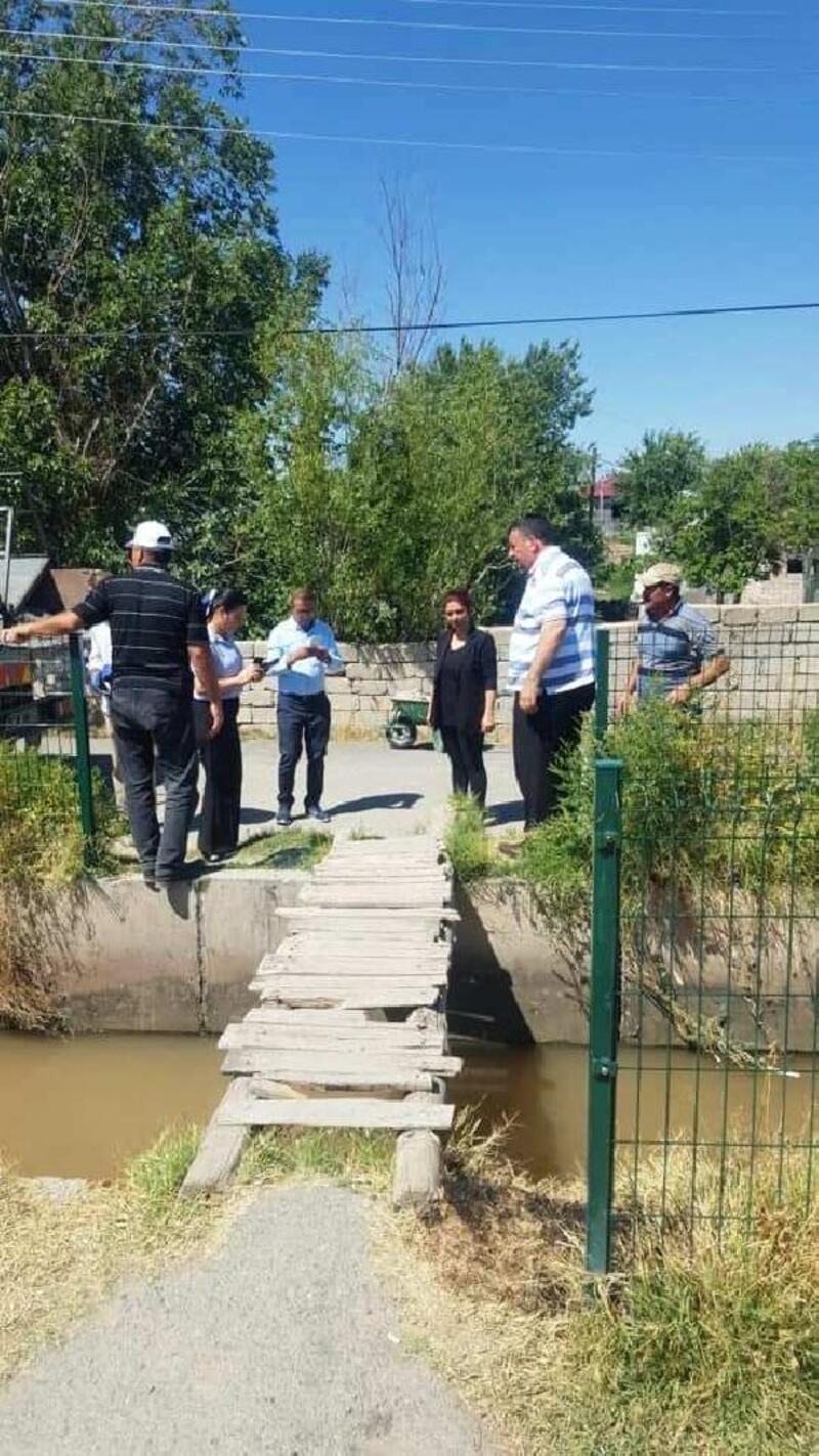 Derme- çatma köprüler, belediye tarafından yenilendi