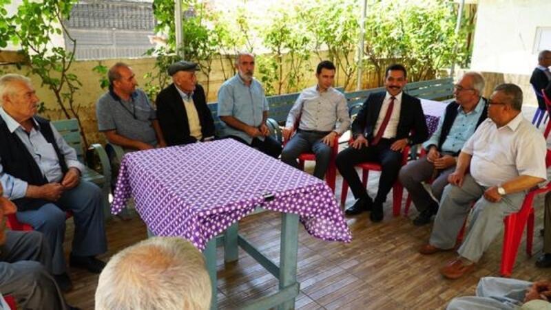 Kaymakam Türkmenoğlu, yayla sakinlerinin sorunlarını dinledi
