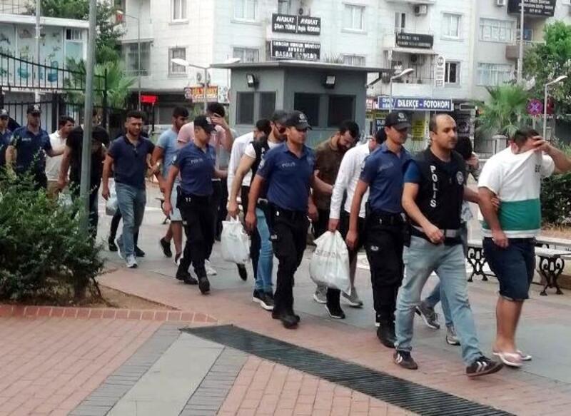 Mersin'de sahte bahis kuponu dolandırıcılarında 7 tutuklama