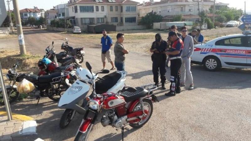 Balıkesir'deki denetimlerde 122 motosiklet trafikten men edildi