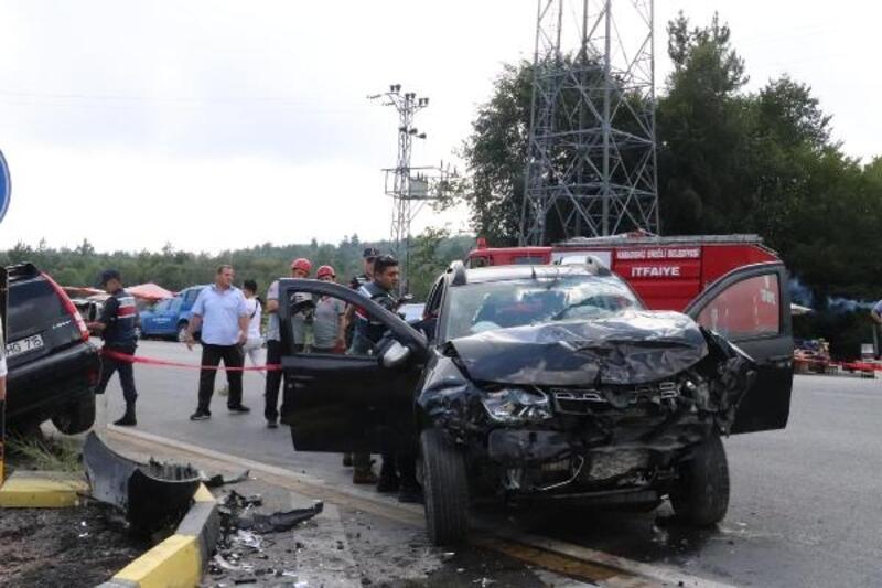Ereğli'de kaza: 5 yaralı
