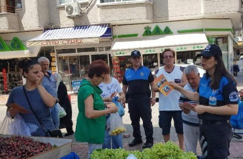 Çarşı-pazar gezen polisten dolandırıcılık uyarısı