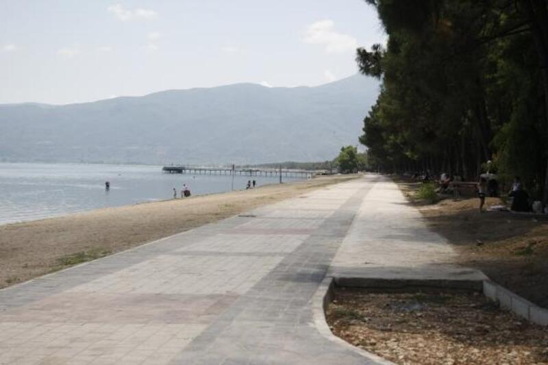 Orhangazi'de Göl Sahil Projesi yeniden başlıyor