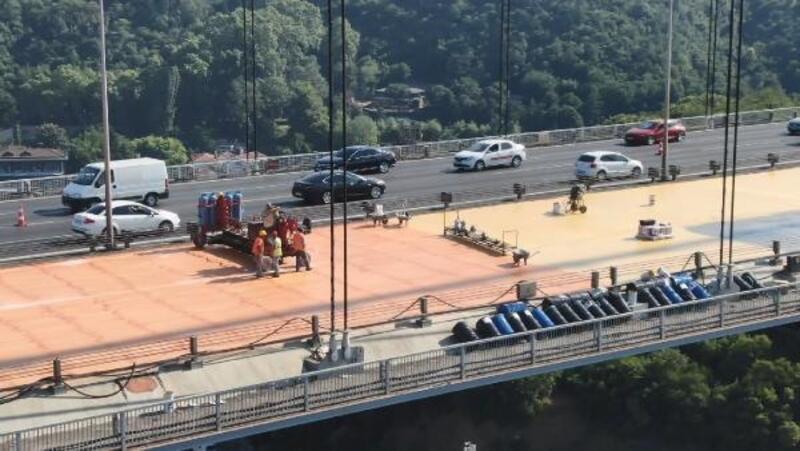 FSM'YE 12. gününde ilk kat asfalt atılmaya başlandı