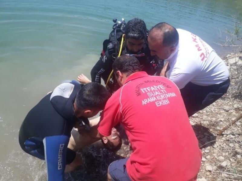 Mehmet Ali, serinlemek için girdiği gölette boğuldu
