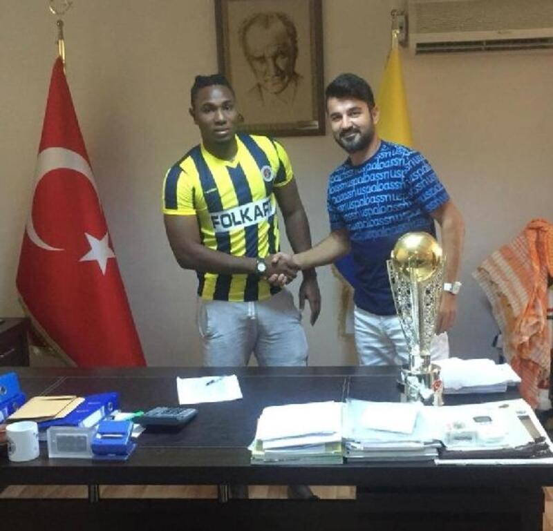 Menemenspor'da ikinci yabancı Jallow oldu