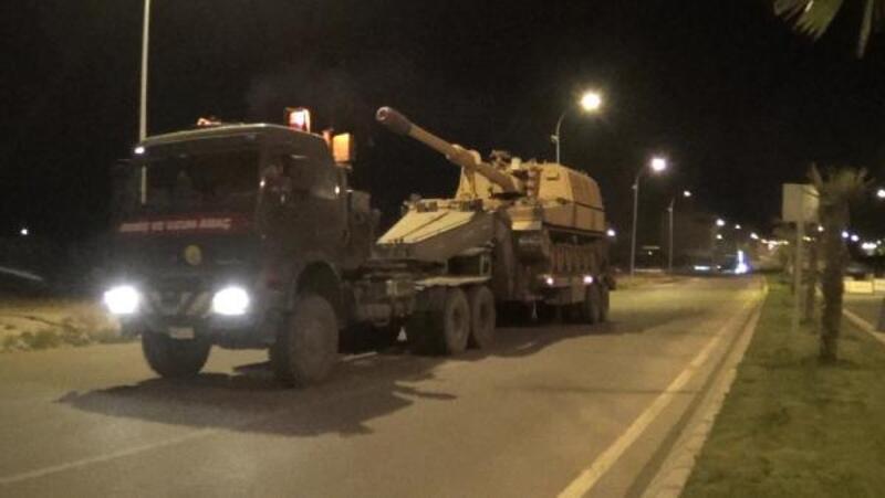 Askeri konvoy Ceylanpınar'a ulaştı