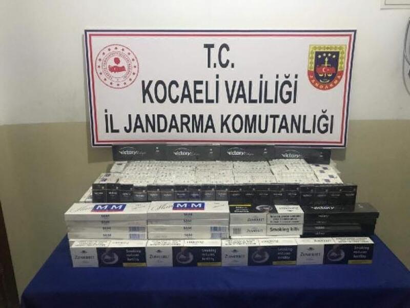 2 bin paket kaçak sigara ele geçirildi