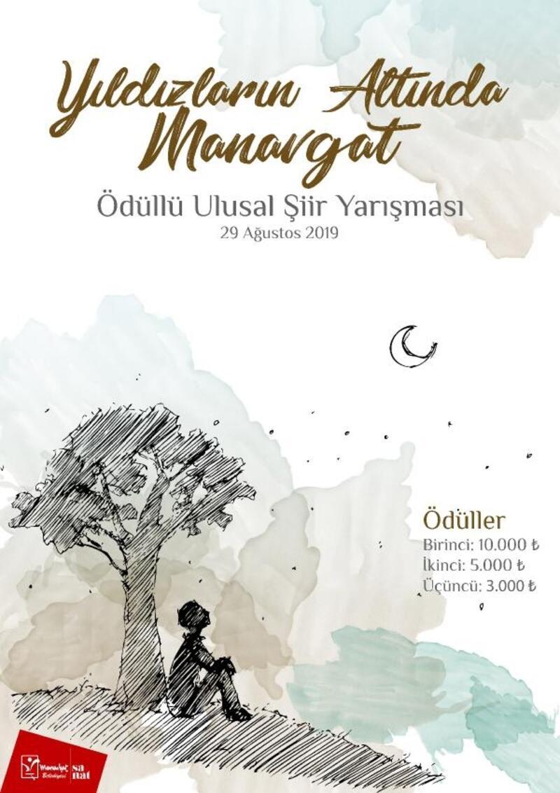 Manavgat Belediyesi'nden ödüllü şiir yarışması