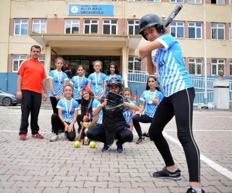 Okul bahçesinden Türkiye şampiyonluğuna