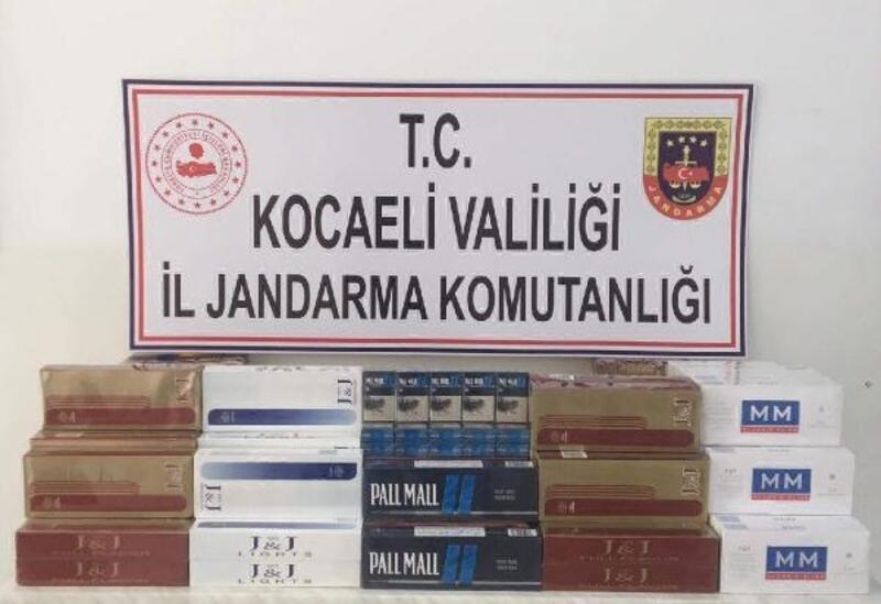 Körfez'de kaçak sigara operasyonu