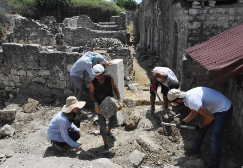Aziz Nicolaos Müzesi'nde kazılar başladı