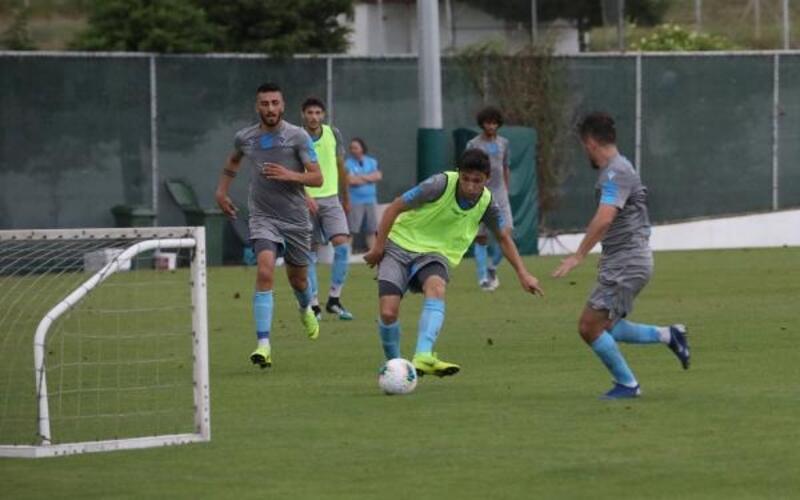 Trabzonspor'un idmanına taraftarlardan yoğun ilgi
