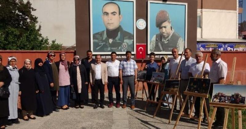 Erciş'te 15 Temmuz sergisi açıldı