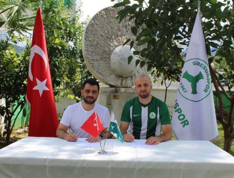 Mehmet Güven ve Özgürcan Özcan Giresunspor'da