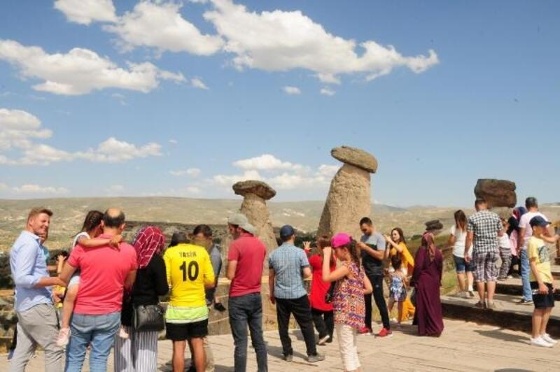 Kapadokya'ya yoğun ilgi