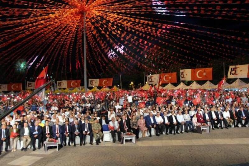 Gaziantep'te 15 Temmuz yürüyüşü