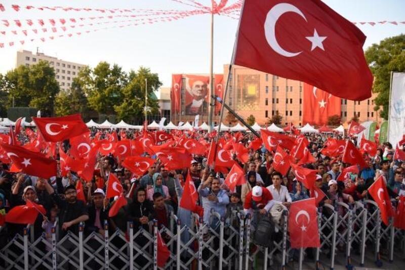 Eskişehir ve Kütahya'da 15 Temmuz etkinliği