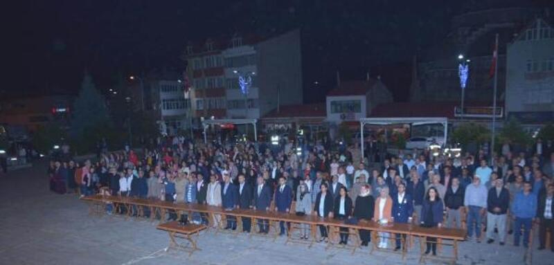 Koyulhisar'da Demokrasi ve Milli Birlik Günü programı