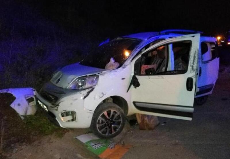 Gazipaşa'da kaza; aynı aileden 5 yaralı