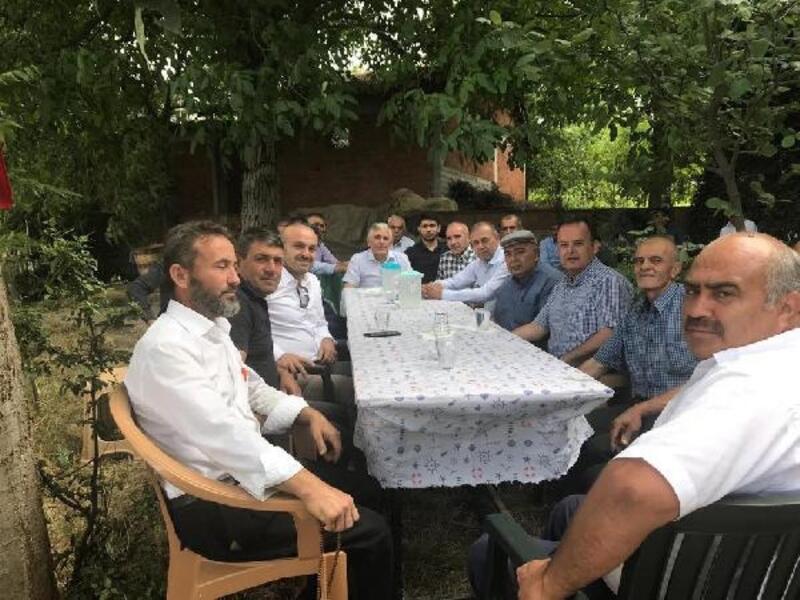 Kaymakam Karacan'dan köy ziyareti