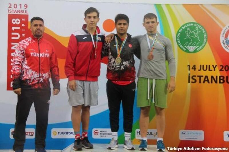 Cirit atmada Balkan Şampiyonu oldu