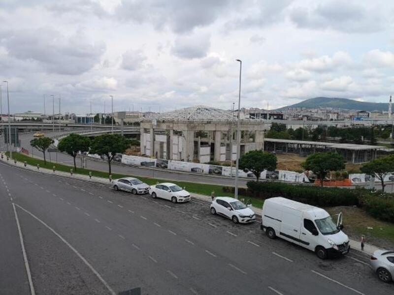 Sabiha Gökçen Havalimanı Camii'nin yüzde 40'ı tamamlandı