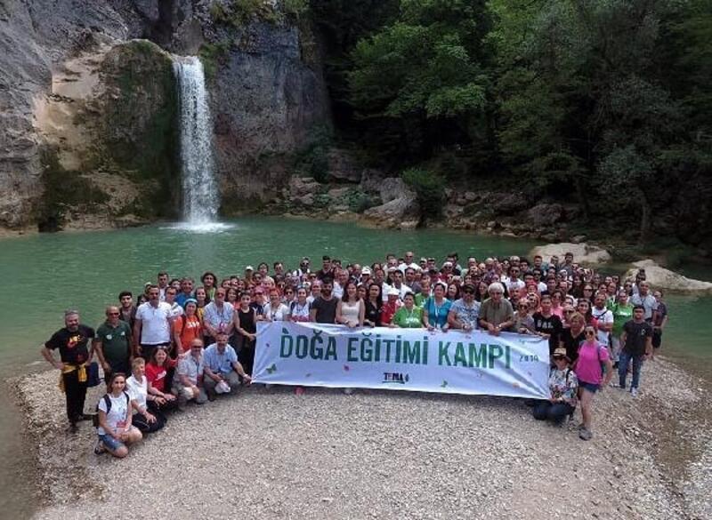 TEMA Vakfı, Mustafakemalpaşa'da Doğa Eğitimi Kampı yaptı