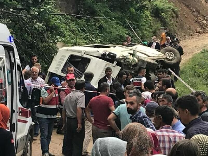 Giresun'da 6 kişinin öldüğü kazada, şoför tutuklandı
