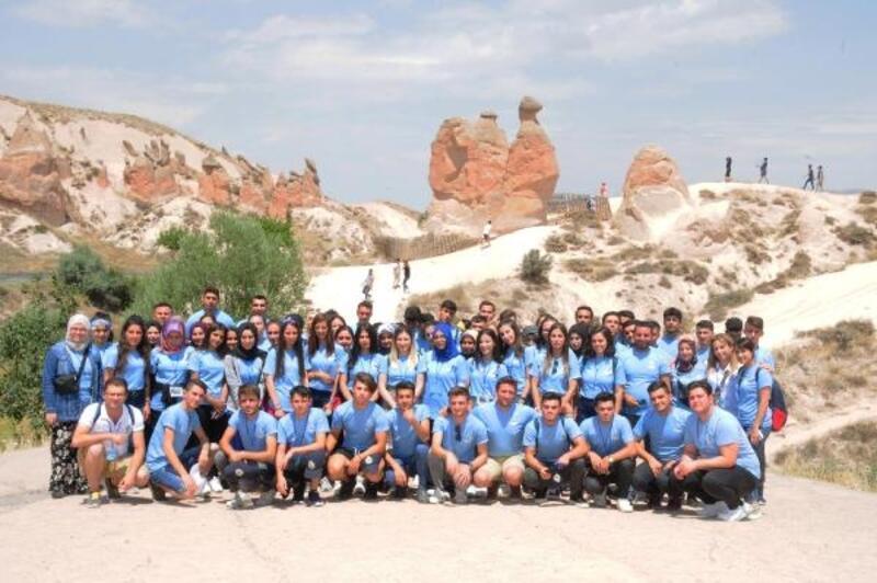 Şehit ve gazi çocuklarına Kapadokya gezisi