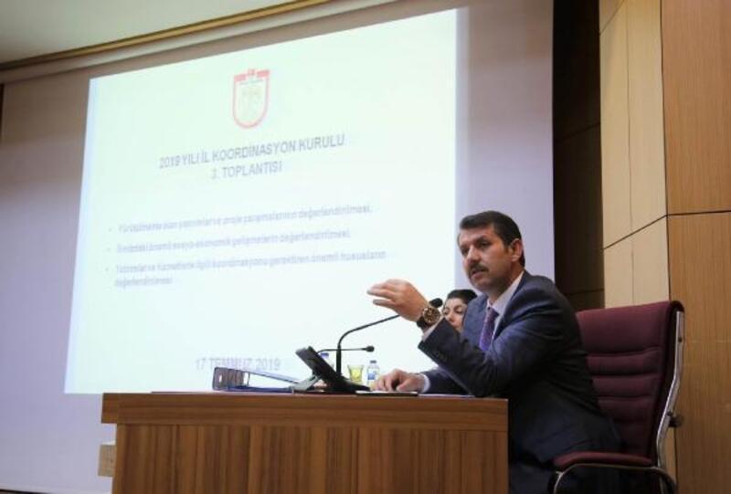 Sivas İl Koordinasyon Toplantısı gerçekleştirildi