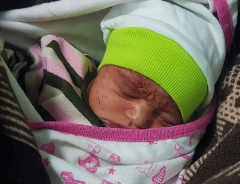 Edremit'te terk edilen bebeğin annesi bulundu