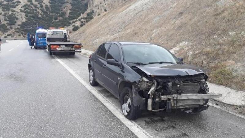 Manisa'da aynı bölgede iki ayrı kaza: 7 yaralı