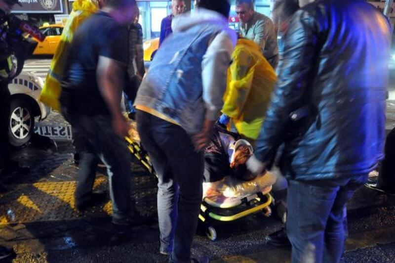 Sürücü adayının çarptığı yaya, yaralandı