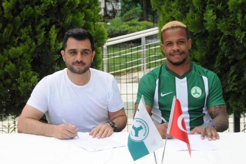 Giresunspor'da Del Valle imzaladı